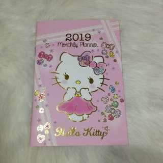 Hello Kitty 2019 Monthly Planner