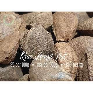 Raw Shelled Brazil Nut