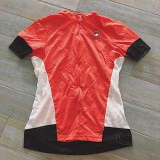 🚚 Castelli Woman Fortuna coral Color Jersey