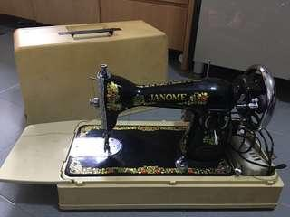 Janone Sewing Machine antique 131 古董衣車