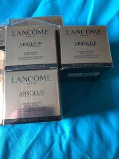 🚚 Lancome Absolue Rich Cream and Soft Cream