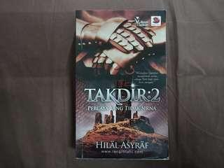 Novel Melayu: Takdir 2