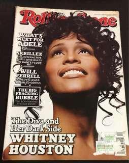 Rolling Stone March 2012: Whitney Houston