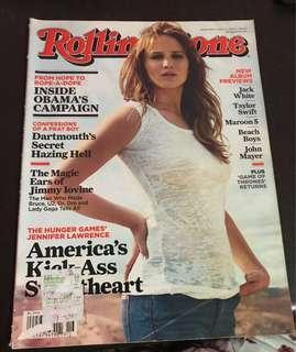 Rolling Stone April 2012: Jennifer Lawrence