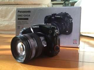 Panasonic GH3 Body + Lumix G X Vario 12-35mm f/2.8  ASPH OIS HD Lens - Photography & Camera Film Kit with Box & Filters