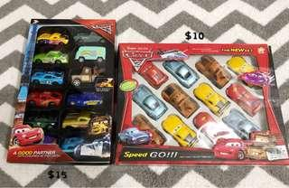 Cars from Cars 2 & 3