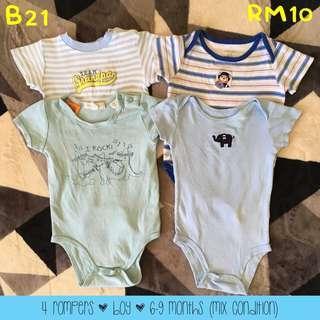 Set baju baby murah