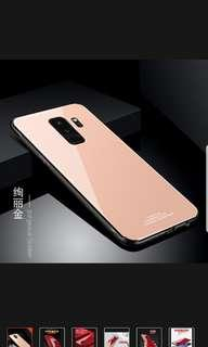 Samsung S9 Plus Tempered Glass Casing (Rose Gold)