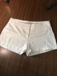 MNG white shorts
