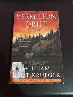Vermilion Drift by William Krueger Preloved Books
