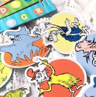 [DIY Mobile] Dr Seuss & Friends - Hanging Mobile.
