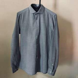 The Executive gray shirt size m