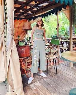 TCL Derla Embroidered Culottes (Size XS)