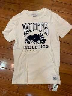 Roots 短t