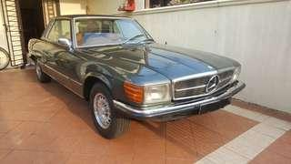 Mercedes Benz 350SLC Coupe (A) Rare Limited Edition