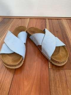 Modabella Cork Sole Slides Size 39
