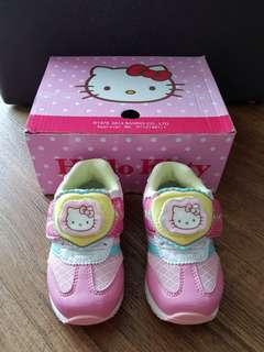 Hello Kitty Light up Shoes Size 5