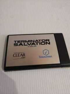 MovMerc TERMINATOR SALVATION - Memo Pad #TRU50