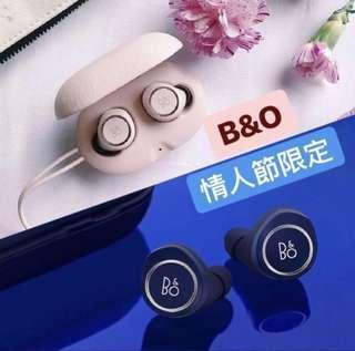 【B&O BeoPlay E8 SE 真無線藍牙耳機】  情人節限定 ❤️櫻花粉紅 x 午夜藍