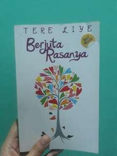 Novel Berjuta Rasa Tere Liye
