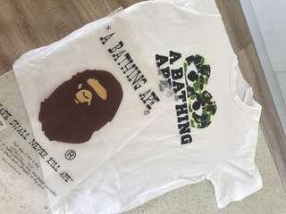 CDG x bape t shirt