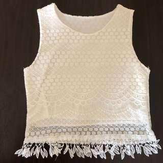 Set wear lace TOP + BOTTOM