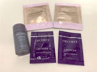 全新 Cosme Decorte skincare 共5件 $25包郵/上水交收