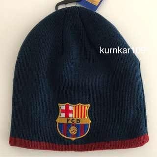 全新正貨 FC Barcelona Beanie _(歐洲購入)