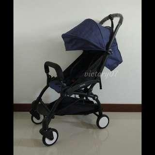 BN Lightweight Compact Baby Travel Stroller, Midnight Blue