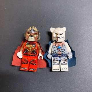 Lego Chima Lavertus Sir Fangar 神獸世界 5004076 5004077 box 獅子同狼
