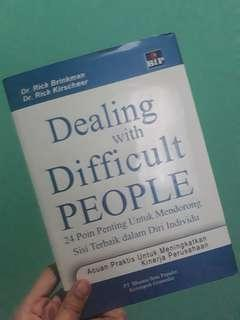 Dealing With Difficult People - Leadership Bookw