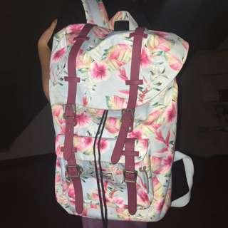 REPRICED!!! Technopack Floral Backpack