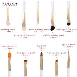 🚚 Docolour 10-piece Professional Eye Brush Set