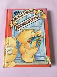Forever Friends Address book