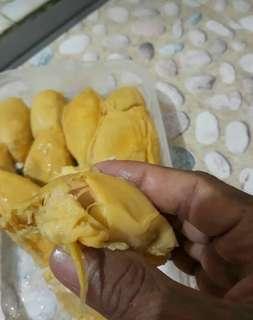 Durian kupas manis