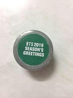 BTS 2019 SEASON'S GREETINGS MASKING TAPE