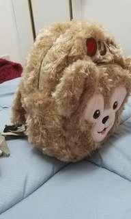 🚚 達菲熊超可愛後背包,適合1歲左右小小孩