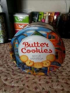 BUTTER COOKIES TIN BOX