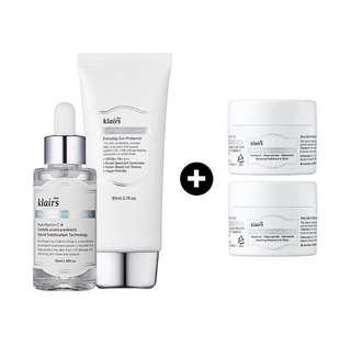 🚚 [Ready Stocks] - Klairs Skin Brightening And Boosting Power Trio Set