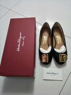 Salvatore Ferragamo Fiamma Leather Shoe