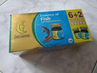 [BNIB] NewMoon Essence Of Fish with American Ginseng 6+2 Value Pack