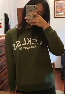 Pacsun橄欖綠大學T