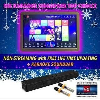㊗️MB Full home karaoke Non touchscreen system(Free Lifetime update-2 years warranty )