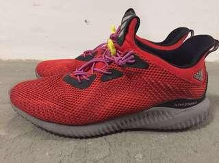 Adidas Running Alphabounce Sneakers In Red BW 1220