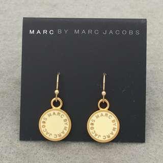 Marc Jacobs Sample Earrings 白色配金色耳環 EA288