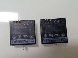 🚚 2 Batteries for Yi 4K or 4K plus (please read descriptions)