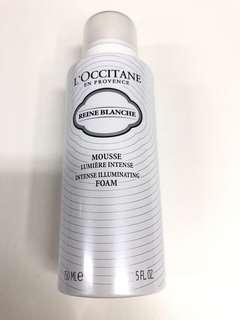 L'Occitane 白皇后雙效潔面泡沫 Foam