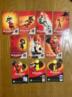 🚚 ZO cards - The Incredibles