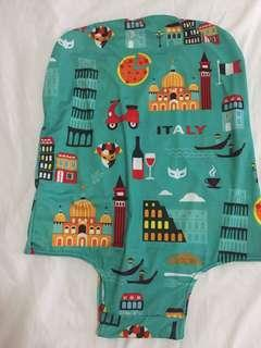 Travel size carry on luggage cover