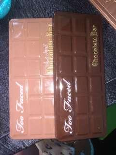 Too faced chocolate bars